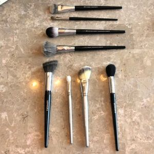 8 piece Sephora Collection Makeup Brushes